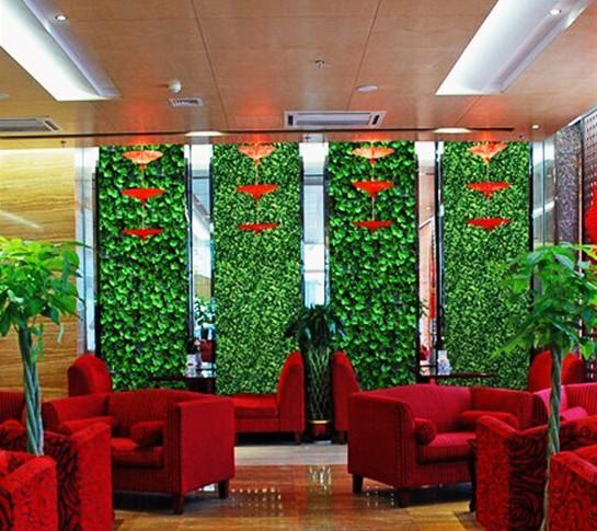 办公客厅仿真植物墙